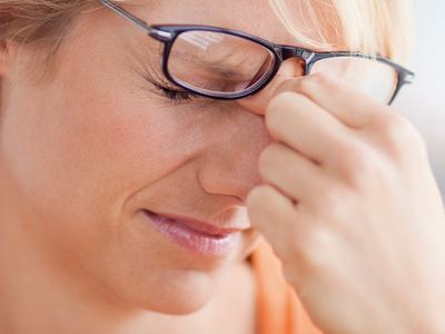 проблемы со зрением при всд