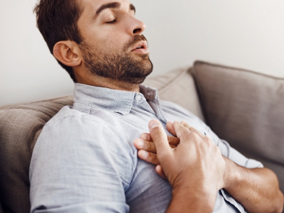 жжение в груди при коронавирусе